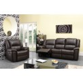 Brooklyn Recliner Leather Sofa Set